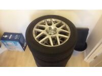 Volkswangen golf alloy wheels