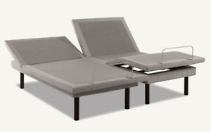 Adjustable twin long bed base