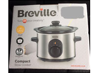 BREVILLE COMPACT 1.5LTR SLOW COOKER BRAND NEW IN BOX - BARGAIN PRICE £15