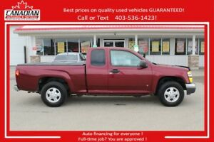 2007 GMC Canyon EXT CAB LOW KMS $10900 FINANCING FOR ALL!