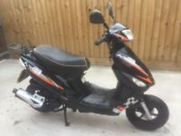50cc scooter moped 2013 two stroke new mot