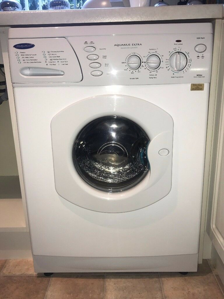 Hotpoint Aquarius Extra Washer Dryer (WD64). Very little use.