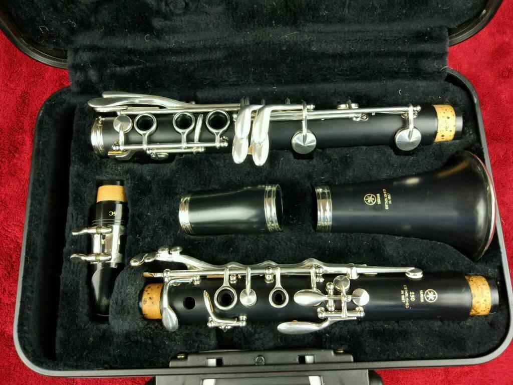 yamaha 250 clarinet. clarinet yamaha ycl 250 e