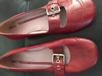 Red Nine West shoes