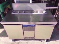 CATERING TOPPING FRIDGE COMMERCIAL SALAD BAR MACHINE SHOP TAKEAWAY BUFFET DINER CAFETERIA KITCHEN