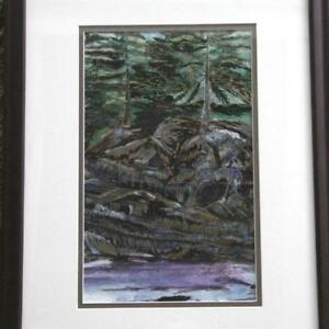 Pacific Spirit Park original new $50 art with heart