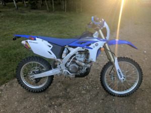 2012 Yamaha wr450f great deal, great bike consider trades