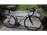 Aluminium csrbon forks Mens road bike 57cm large frame