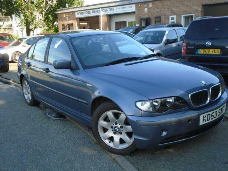 2003 53 BMW 3 SERIES 2.0 320D SE 4D AUTO 148 BHP DIESEL