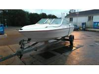 17 foot glastron speed boat