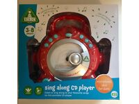 *brand new* ELC karaoke machine CD player / 2 microphones / red