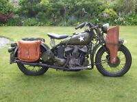 Indian 741b 500cc 1943