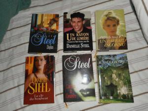 57 livres de Danielle Steel, prix à la baisse, comme neufs