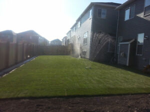 Best time to install sod! SOD SALE!! $.95 sq ft- 403-462-2399