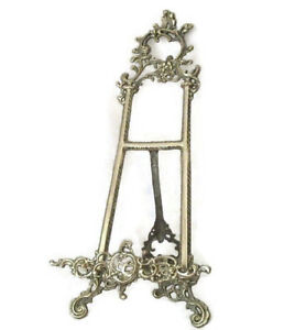 Table Top Brass Easel