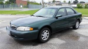 1998 Mazda 626 LX Sedan 5-sp Manual Transmission - Runs Great!
