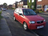 Suzuki Alto 1.1. 2006. 5 door. 85k miles. Reliable. 10 months MOT. New exhaust & 2 new tyres. Cheap.