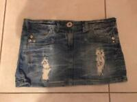 New look denim skirt size 12