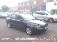 2005 (55 Reg) Volvo S40 1.6 S 4DR Saloon BLACK + LOW MILES