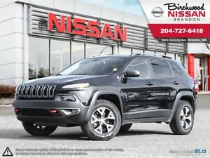 2016 Jeep Cherokee LOCAL! ONE OWNER! Trailhawk