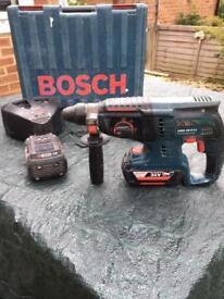 BOSCH GBH 36V LI-ION PROFESSIONAL DRILL BOSCHHAMMER