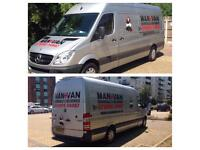 Man and van removals and deliveries Transporter London Essex