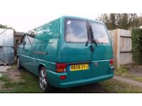 Vw transporter 1.9 tdi afn with awning, fully insulated