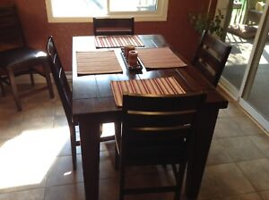 Moving Sale - Ashley dining table with 6 chairs