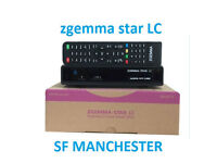 New Zgemma Star LC Single Tuner FTA HD TV Receiver Enigma2 Linux Updated DVB-C h2
