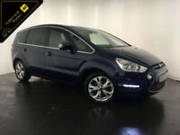 2011 61 FORD S-MAX TITANIUM TDCI DIESEL 7 SEATER SERVICE HISTORY FINANCE PX