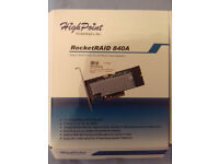 RocketRAID 840A 6Gb/s SATA PCIe 3.0 x8 RAID Host Adapter with 2 x 8643 mini SAS cables