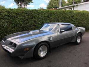 Pontiac Trans Am 1980 à vendre ou échange