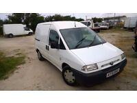 Fiat Scudo el 1.9 d 2001-51-reg, 1900cc diesel, new MOT on purchase