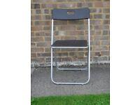 Foldaway computer chair