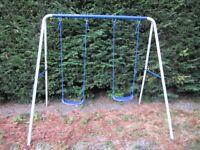 Garden swing for children