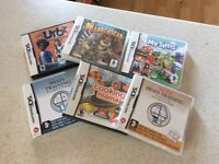 Selection of DS Games