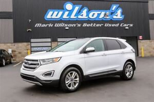 2016 Ford Edge SEL AWD! LEATHER! NAV! PANORAMIC SUNROOF! $95/WK,