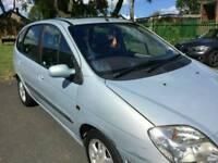Renault megane scenic AUTOMATIC 1.6 petrol 2002 low milage long mot