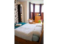 Mon-Fri Double Room available in Gorgeous Southville Garden Flat