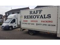 Raff Man and Van or Raff house removals and storage, removals company in Northampton