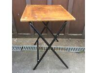 Old school desk, folding table
