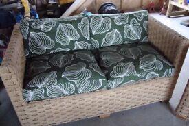 Rattan sun room/conservatory furniture