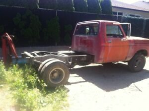 1972 Ford F-250 Pickup cab and chasie