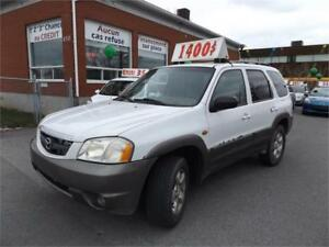 MAZDA TRIBUTE SUV 2001 4X4** AUTOMATIQUE, AWD, HITCH, MAG ET ++