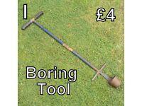 Gardening Tools (I) Boring Tool
