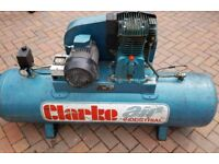 Air compressor 160ltr clark