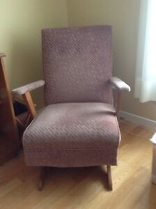 2 fauteuils berçants