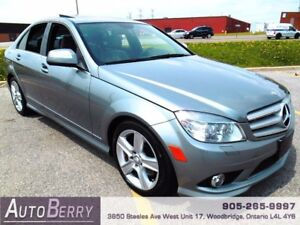 2008 Mercedes-Benz C-Class C300  4MATIC ** Certified & E-Test **