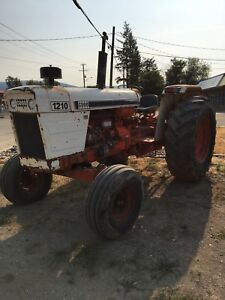 Case 1210 tractor
