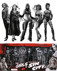 Girls of Sin City Box Set - Black and White  Edition new sealed
